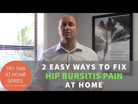 How to self treat hip bursitis pain at home | Pursuit Physical Therapy | Orlando