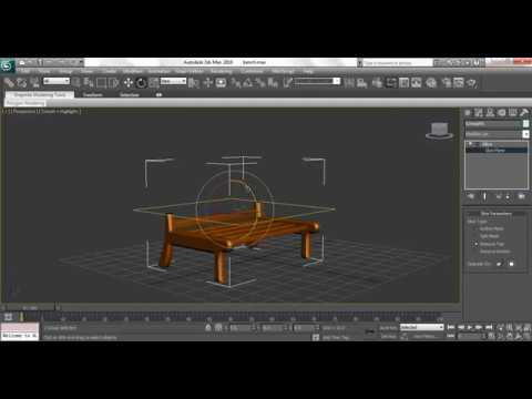 3ds Max Animation Tutorial: How to Animate Chair using Slice Modify