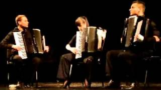 """V. Zubitsky """"fatum"""", Sonata For Three Accordion (ii Mov) - Accordion Trio"""