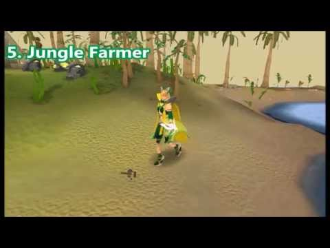Runescape Top 5 Girl Outfits - 2014