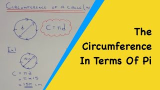 How To Work Out The Circumference Of A Circle As An Exact Answer In T