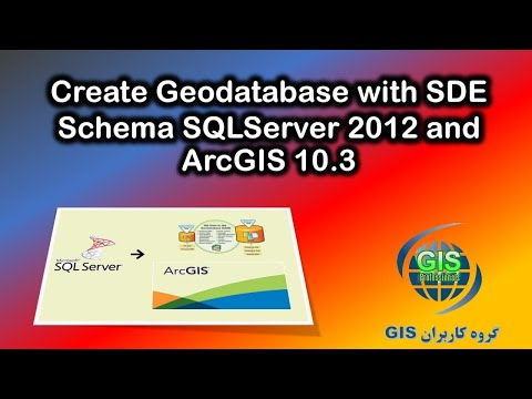 Create Geodatabase with SDE schema , SqlServer 2012 and ArcGIS 10.3