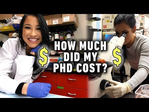 How Much Did My PhD Cost? (My Exact Costs + Scholarship Tips)