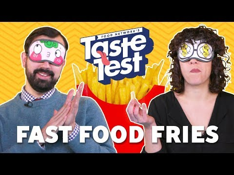 Taste Test: Fast Food Chain French Fries | Food Network