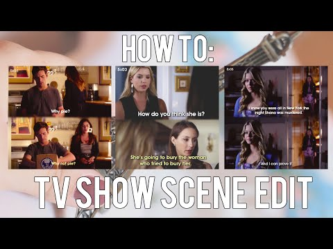(PS) How To: TV Show Scene Edits (Perfect for Tumblr or Instagram)