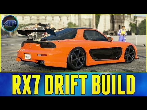 Forza 5 Drift Build : Mazda RX7 Drift Build