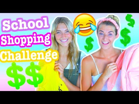 Shopping Challenge 2017! Back To School Edition!