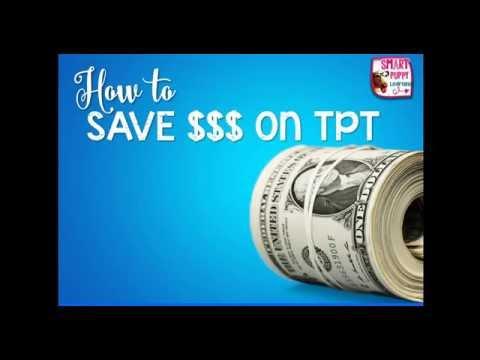 Save Money on Teachers Pay Teachers Purchases