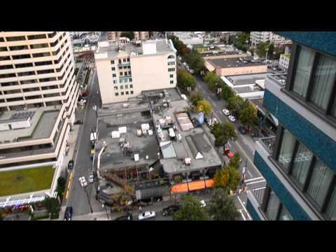 Aussicht Blue Horizon Hotel   Downtown Vancouver   Canada