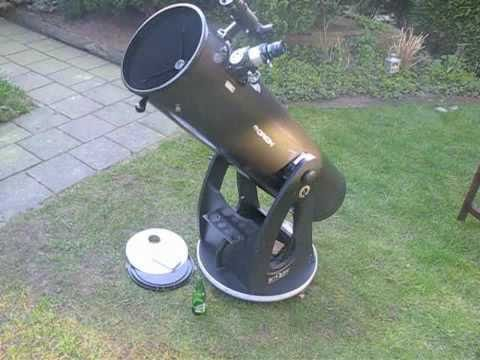 Viewing stars in daylight with a Dobson telescope