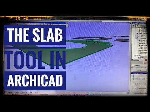 Archicad Mini Tutorial 04 - Slab Tool