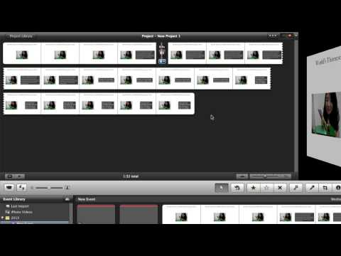 How to Add Transitions - iMovie 11 TUTORIAL
