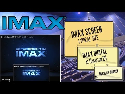Movie Screen Sizes - IMAX