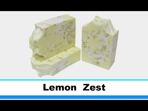 Lemon Zest, Cold Process Soap Making and Cutting, 24th Loaf