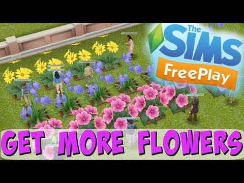 Sims Freeplay   How To Get More Flowers   Community Event