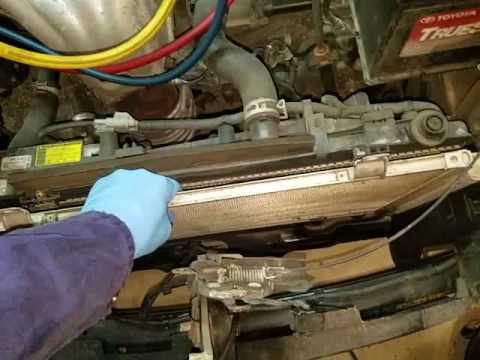 2007 Toyota Camry Condenser Replacement