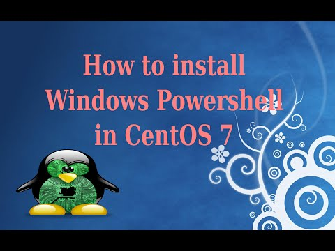 How to install Windows Powershell in Centos7