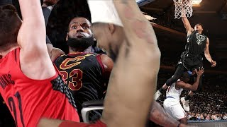 TOO MUCH HEAT FOR ONE VIDEO!! BEST DUNK FROM EVERY TEAM REACTION!