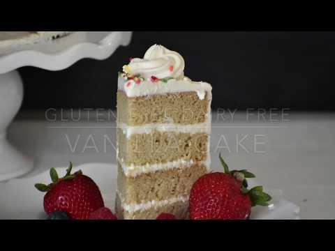 Vanilla Cake- Gluten Free and Dairy Free