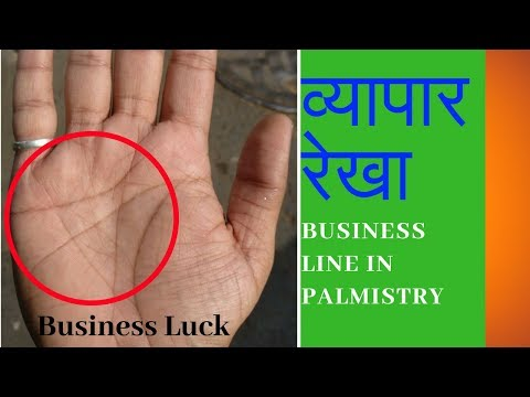 Very best business luck in hand