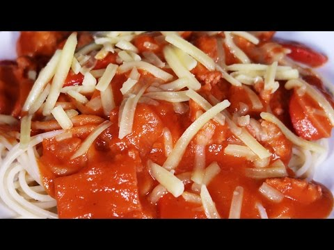 How to Cook Jollibee Spaghetti Recipe