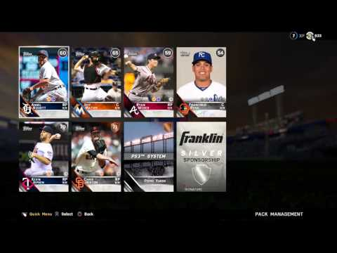 MLB The Show 16 MVP Pre-Order Pack opening! (GOLD PULL)