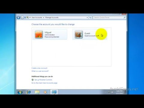 How to Create a New User Account in Windows 7 and Vista