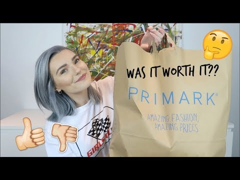 MY FIRST PRIMARK HAUL | TRY ON | SPRING NEW IN | LOVEFINGS