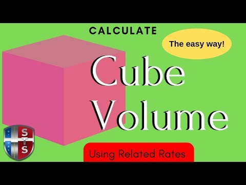 Calculus - Related Rates - Cube Volume - Analytics