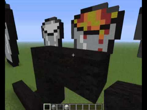 Minecraft how to build lava and milk bucket