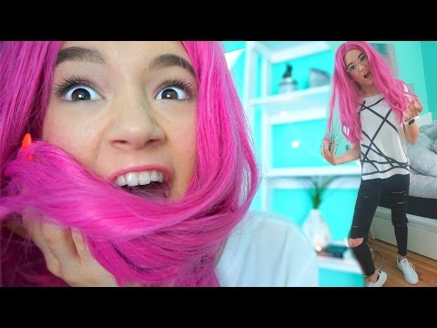 TEEN Wears BRIGHT Kylie Jenner WIG (First Time)... FionaFrills