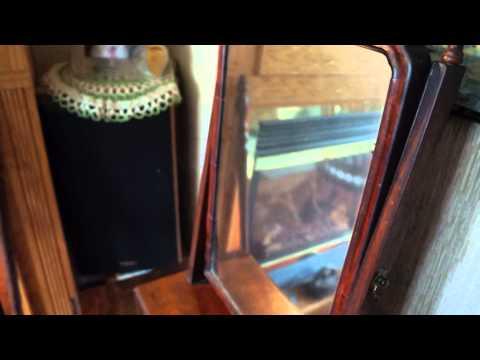 Antique Furniture Dressing Mirror Circa 1770.