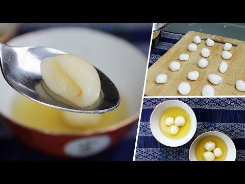 Tong Yuan (Chinese Sweet Rice Dumplings) | Vegan Recipe