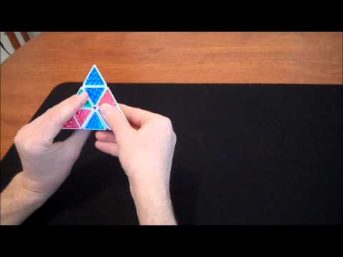 How to solve a Pyraminx (Step 2)