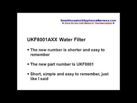 UKF8001AXX Water Filter