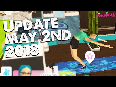 The Sims Mobile Update May 2nd 2018 (Proposals, Yoga animations and more!)
