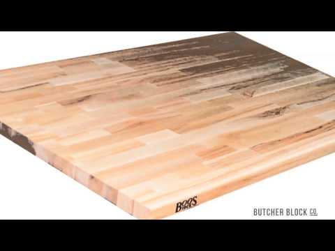 Wood Countertops, Kitchen Island Tops | Butcher Block Co. Video