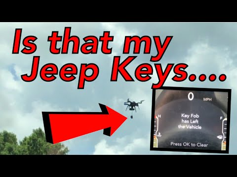 Key fob has left the vehicle Jeep JL *Trailer upcoming video