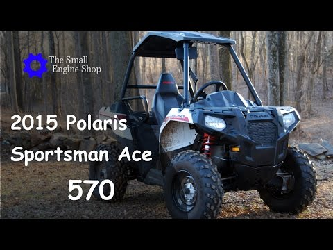 2015 Polaris Sportsman Ace 570 Mini Review