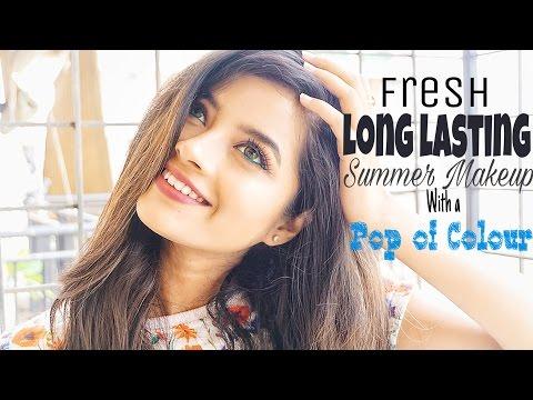 Fresh Long lasting Summer Makeup for Indian Skin Shweta Makeup&Beauty