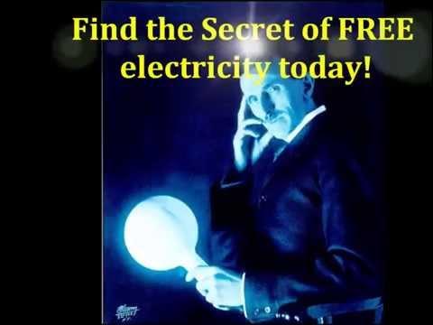 Nikola Tesla unlimited electricity Blueprint| Build Tesla Free power generator at home!