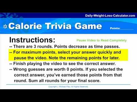 HOW ALCOHOL AFFECTS YOUR DIET - Fun Calorie Trivia Game for Dieters