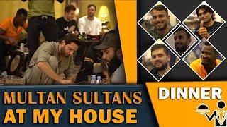 Multan Sultans & Zalmi Friends at my house | Dinner & Fun time | Shahid Afridi