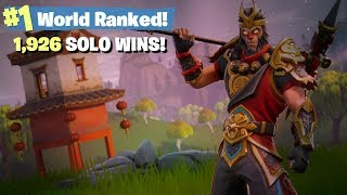 #1 World Ranked 1,962 Solo Wins - Road to 2,000 Wins!
