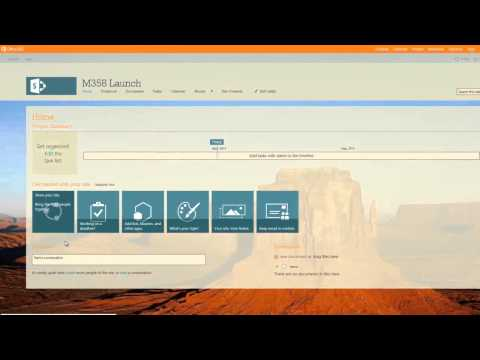 Discover SharePoint 2013   How To Set up a site in a few clicks