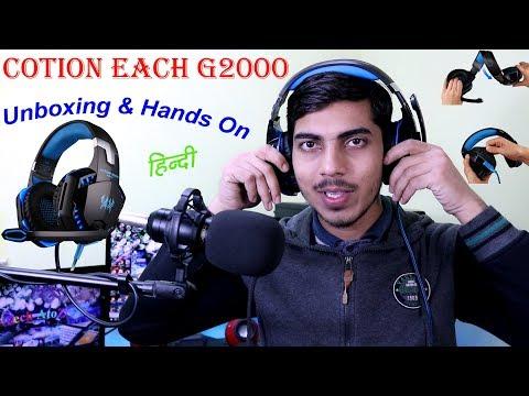 [हिंदी] Kotion Each G2000 Headphone Unboxing : Best value for money? by Tech AtoZ