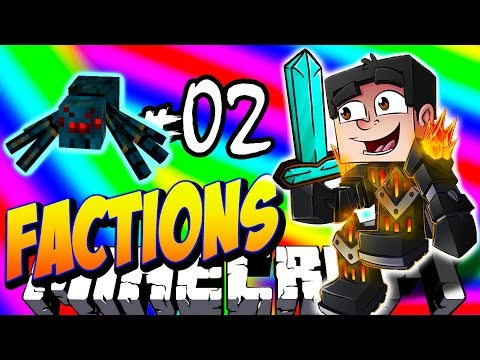 Minecraft FACTIONS VERSUS #2 'SPIDER XP GRINDER!' - Treasure Wars S2
