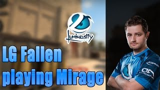 SK* FalleN playing CS:GO Faceit on Mirage (twitch stream)