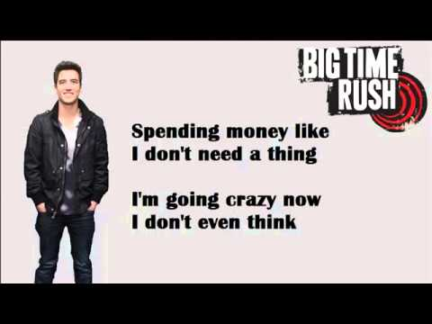 Big time rush-Til i forget about you(LYRICS+PICTURES)