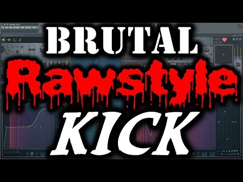RAWSTYLE KICK TUTORIAL   How to Make a Rawstyle Kick   FL Studio Rawstyle Kick FL Studio (Tail Only)